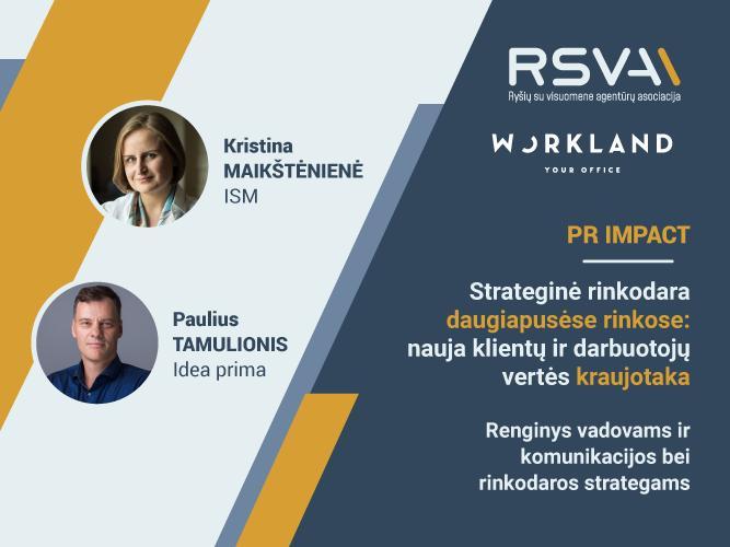 PR IMPACT Strateginė rinkodara daugiapusėse rinkose