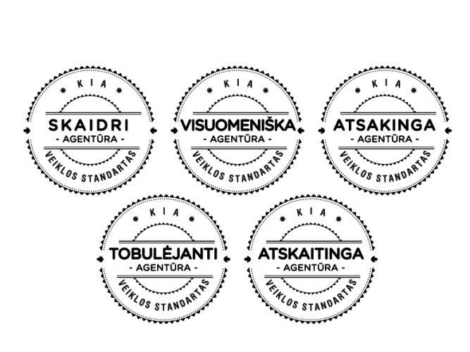 Auditoriai: visoms KIA agentūroms suteikti Veiklos kokybės standarto sertifikatai