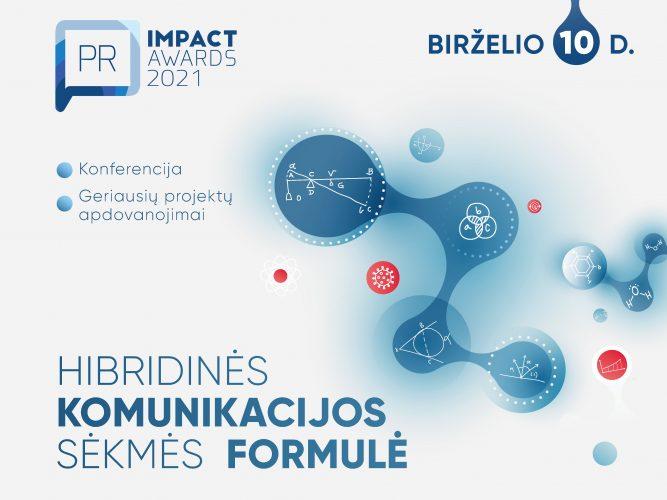 """""""PR Impact Awards 2021"""" ieškos hibridinės komunikacijos sėkmės formulių"""