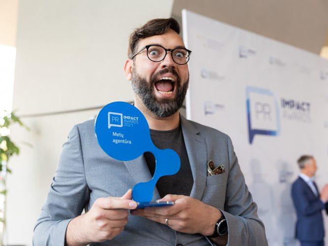 """""""PR Impact Awards 2021"""" apdovanoti geriausi komunikacijos projektai, Metų agentūra – """"Bosanova"""""""
